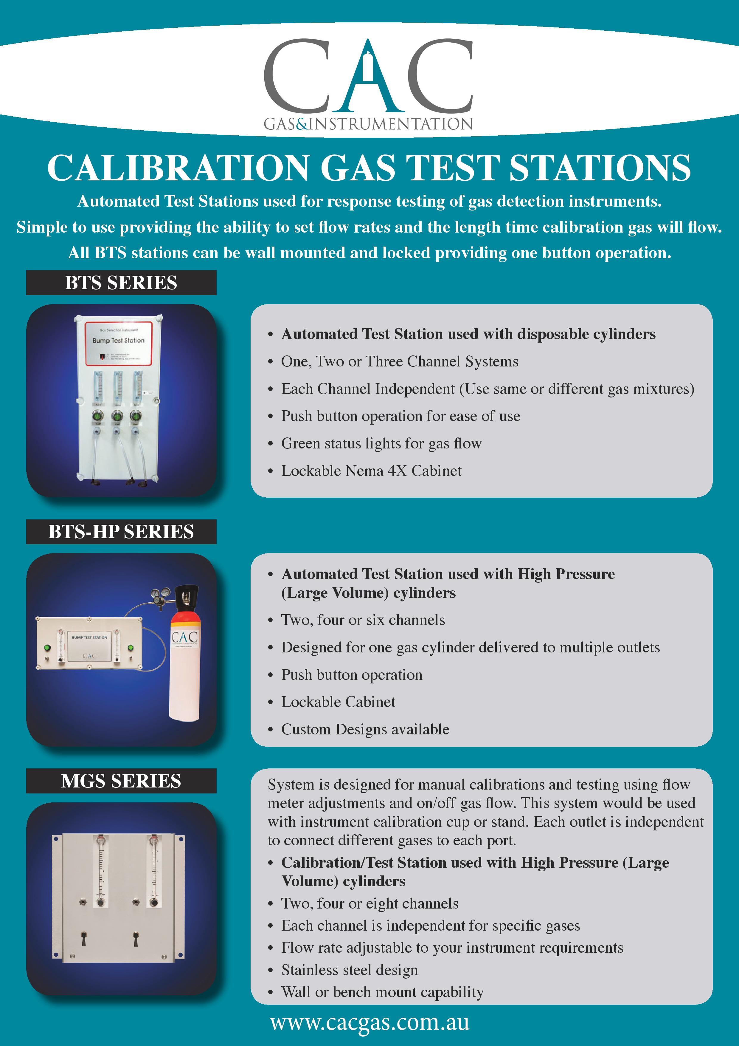 CAC_Gas_Calibration Gas Test Stations