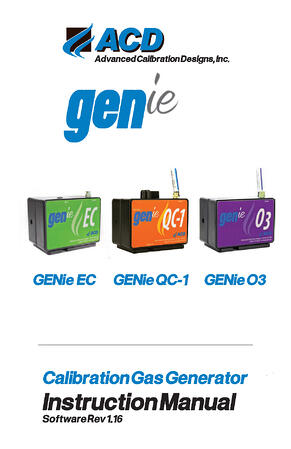 GENie Family Manual for Web