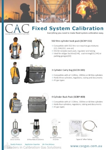 fixed system calibration brochure