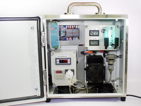 gas sample conditioning system